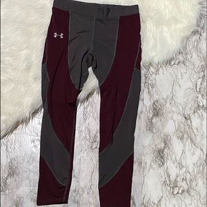 Under Armour Cold gear running workout leggings
